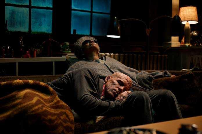 Ryan Reynolds e Leslie Uggams em Deadpool 2 (2018)