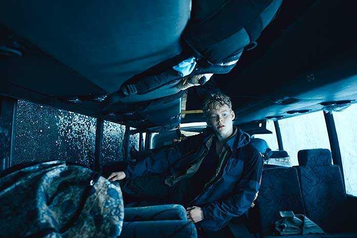 Lynggaard Tønnesen (Rasmus Anderson Lucas) em The Rain - Netflix