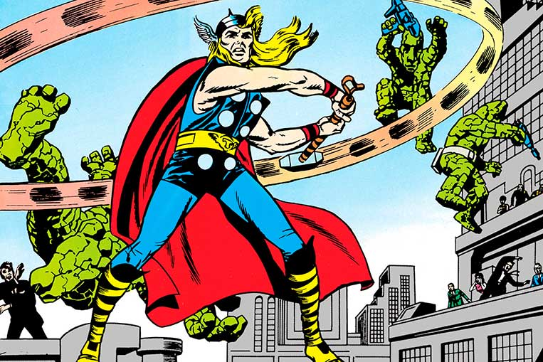 A primeira aparição de Thor nos quadrinhos