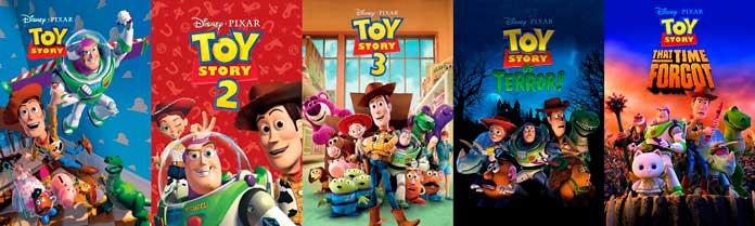 Toy Story: filmes e especiais