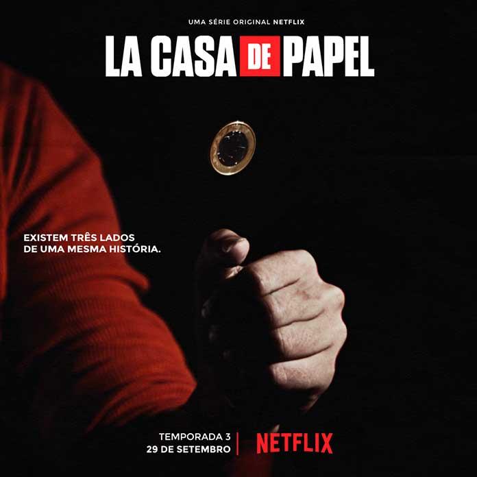 3ª parte de La Casa de Papel chega em setembro à Netflix