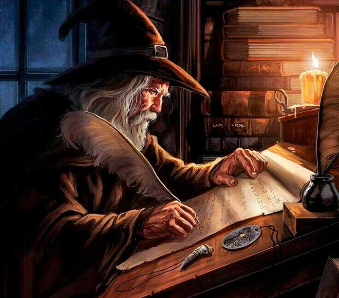 O mago Merlin