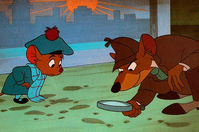 As Peripécias de um Ratinho Detetive (1986)