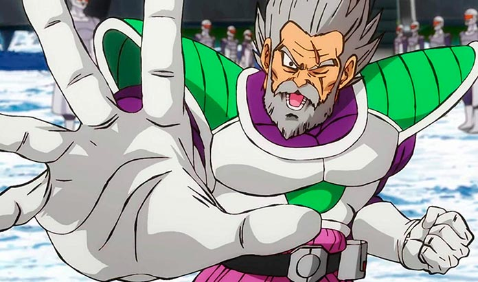 Paragus Dragon Ball Super Broly