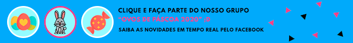Banner do grupo ovos de páscoa 2020 no Facebook