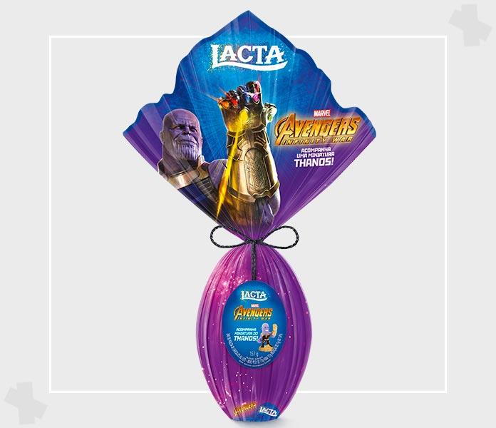 Ovo de páscoa Thanos