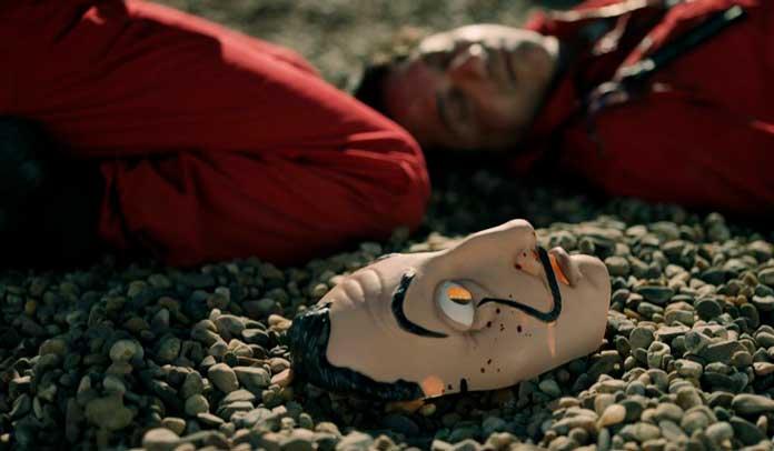 Fotos da máscara de La Casa de Papel 01
