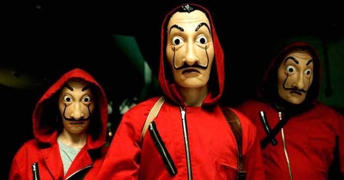 Fotos da máscara de La Casa de Papel 03