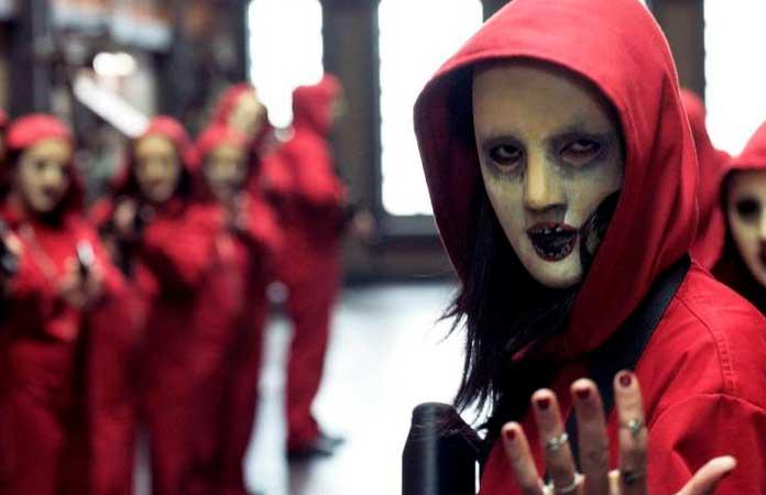 Fotos da máscara de La Casa de Papel 04
