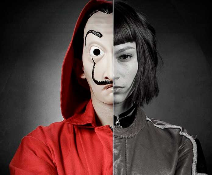 Fotos dos personagens de La Casa de Papel 01
