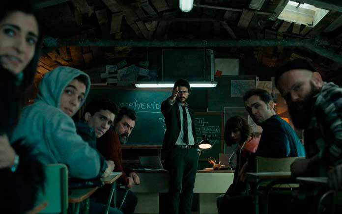 Fotos dos personagens de La Casa de Papel 05