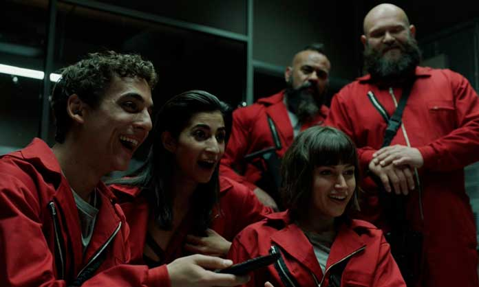 Fotos dos personagens de La Casa de Papel 20