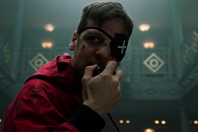 Plano Alcatraz 3ª temporada La Casa de Papel