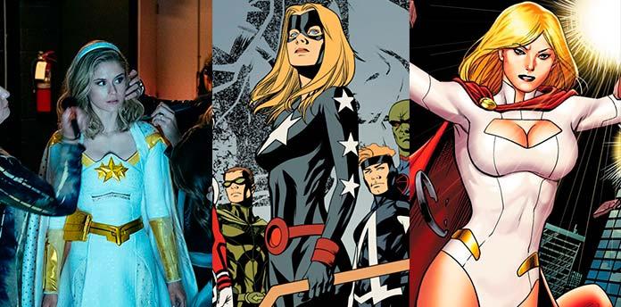 Luz-Estrela foi inspirada nas heroínas Sideral (Stargirl) e Poderosa