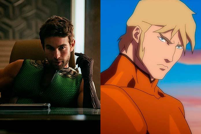 Profundo foi inspirado no Aquaman