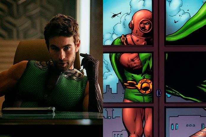 Profundo série vs quadrinhos The Boys