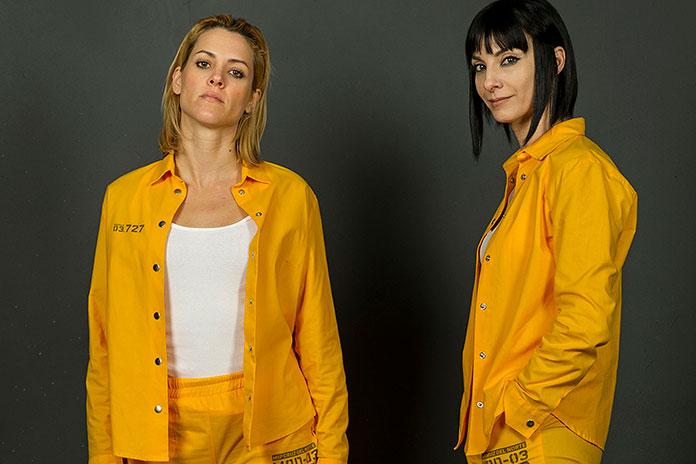 Macarena e Zulema personagens da série Vis a Vis