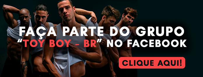 Banner do Grupo Toy Boy - BR no Facebook
