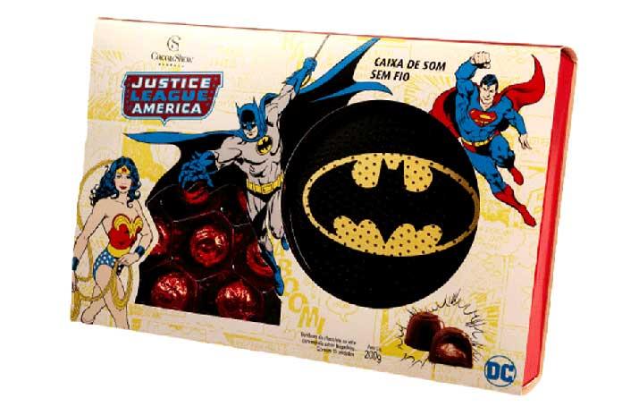 Bombons Liga da Justiça (200g)