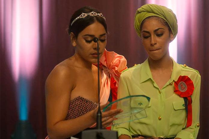 Nadia e Lucrecia ganham uma bolsa juntas, Elite