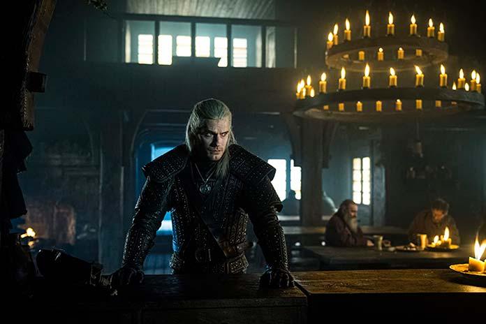 Henry Cavill é Geralt de Rívia