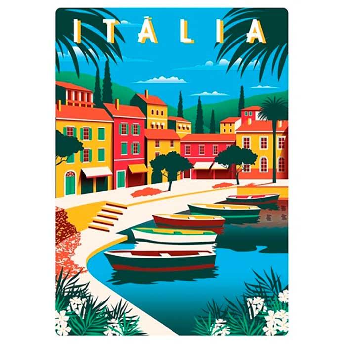 Quebra-Cabeça Cartões Postais da Europa - Itália