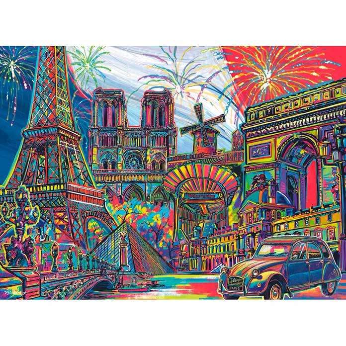 Quebra Cabeça Super 3d Paris