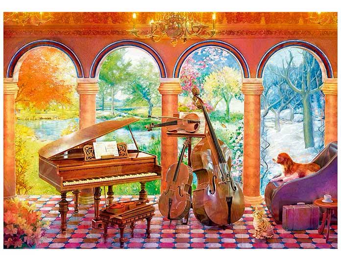 Quebra-Cabeça Vivaldi as Quatro Estações
