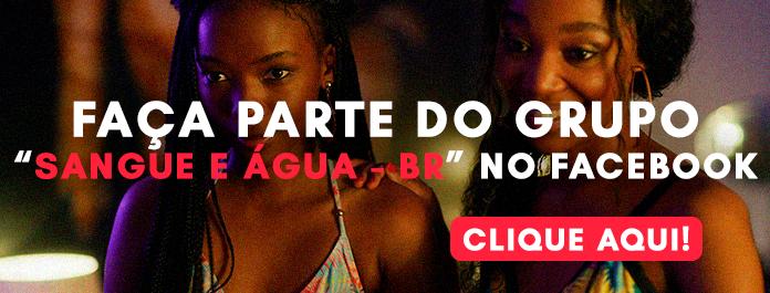 """Banner do grupo """"Sangue e Água- Br"""" no Facebook"""