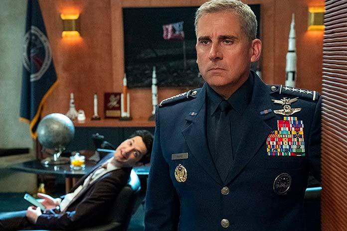 Steve Carell é General Mark R. Naird